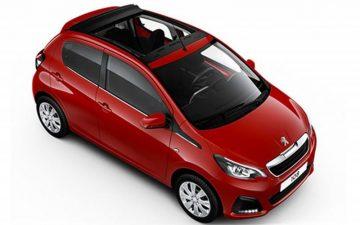 Забронировать Peugeot 108 Open-Top (Model 2021)